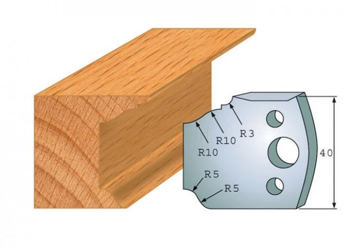 Profilmesser-Paar 079