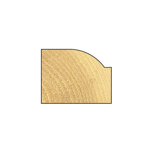 Viertelstabfräser flach