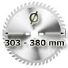 Kreissägeblatt <br/>Ø 303 - 380