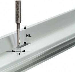 Aluminiumfräser HS Schaft 8 mm HS S8 D5/NL23