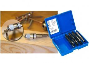 31-tlg. Bit-Kassette MIX & Magnetbithalter Set