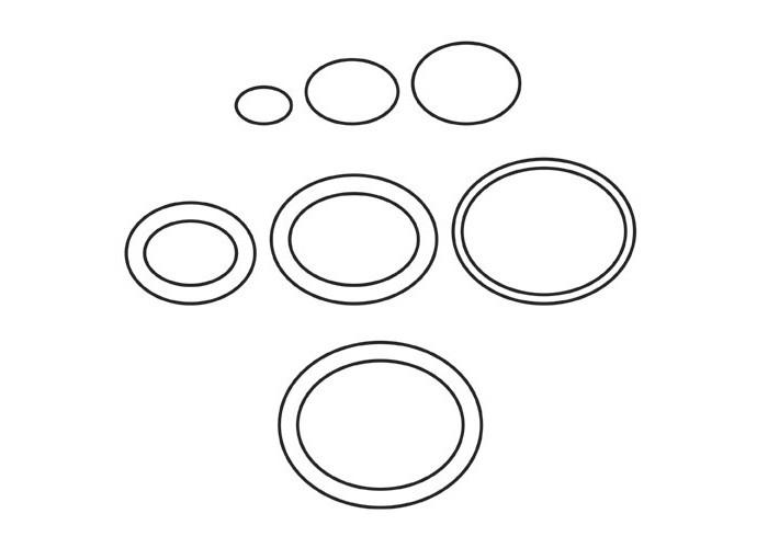 Frässchablonen-Set für Bilderrahmen