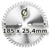 Kreissägeblatt <br/>Ø 185 x 25.4mm