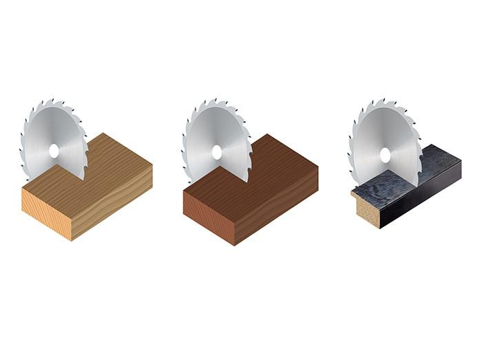 Kreissägeblatt HM 350 x 3,0/2,2 x 30 mm, Z=120 WWF