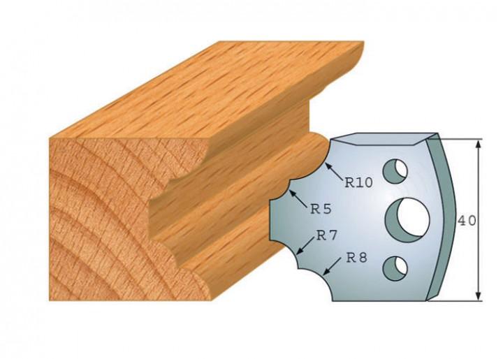 Profilmesser-Paar 022