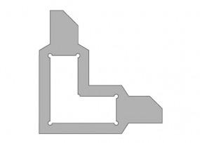 Schablonenrahmen f. Schablonen