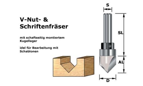 V-Nutfräser