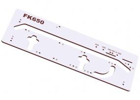 Frässchablone FK650 für Arbeitsplatten