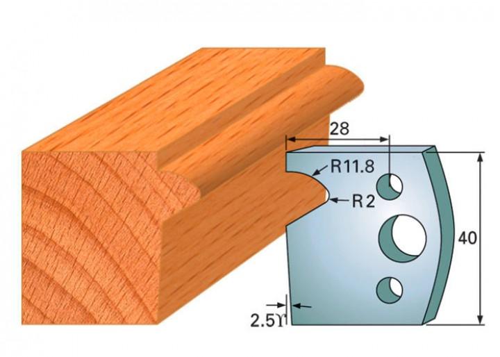 Profilmesser-Paar 135