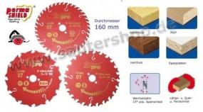 Kreissägeblätter 3x160-20