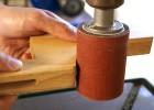Schleifzylinder Set 4-tlg. in Holzkassette