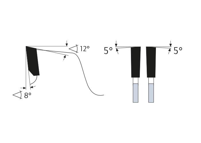 Kreissägeblatt HM 355 x 3,2/2,2 x 30 mm, Z=54