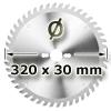 Kreissägeblatt <br/>Ø 320 x 30mm