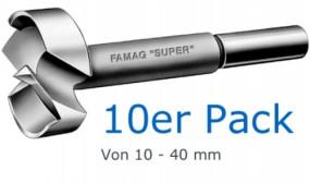 SUPER-Forstnerbohrer Satz 10-tlg.