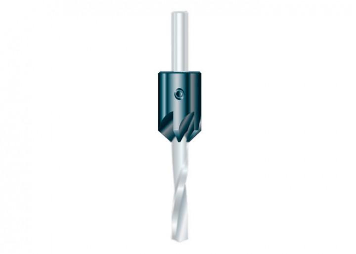 Aufsteckversenker WS für Bohrer D 9 mm