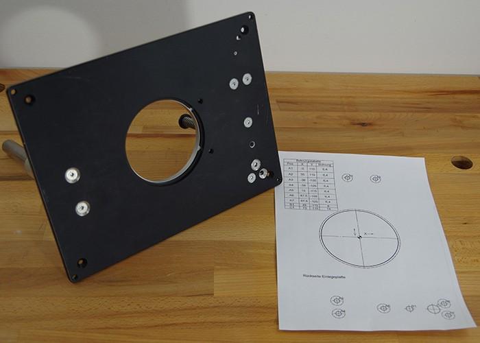 Oberfräsenlift Anbau-Kit OAK1.0