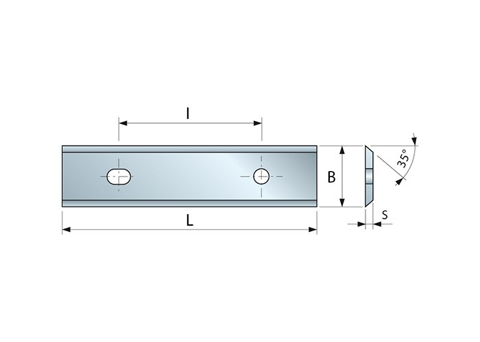 Wendemesser HM 50 x 12 x 1,5 für Oberfräser