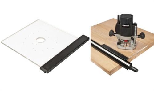 Adapterplatte für Oberfräsen für das Varijig-System