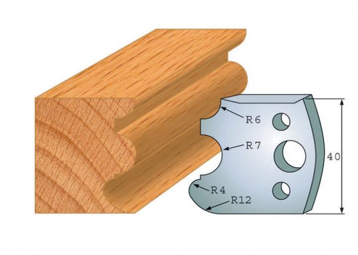 Profilmesser-Paar 088