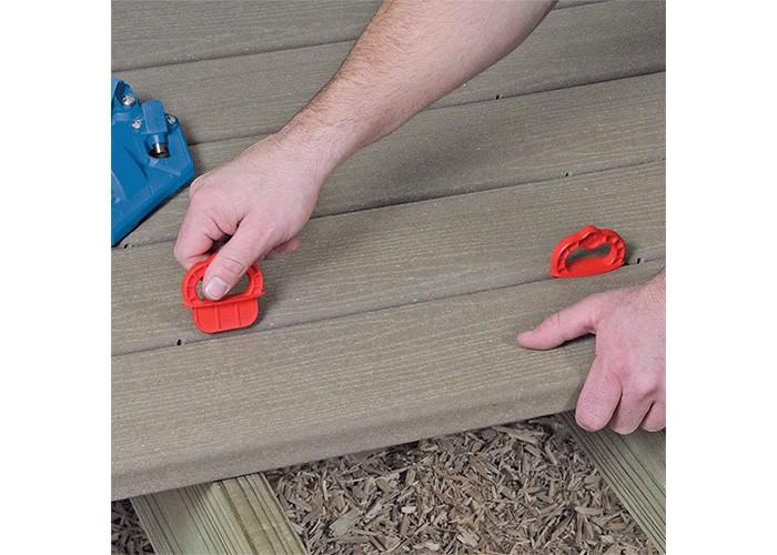Bohrlehre für Terrassendielen Deck Jig