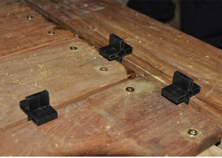 Set Montagezwinge für Terrassenbau