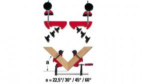 Gehrungs-Spannsystem MCX