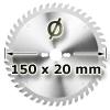 Kreissägeblatt <br/>Ø 150 x 20mm