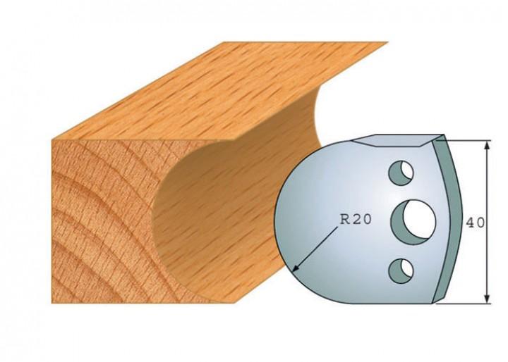 Profilmesser-Paar 131