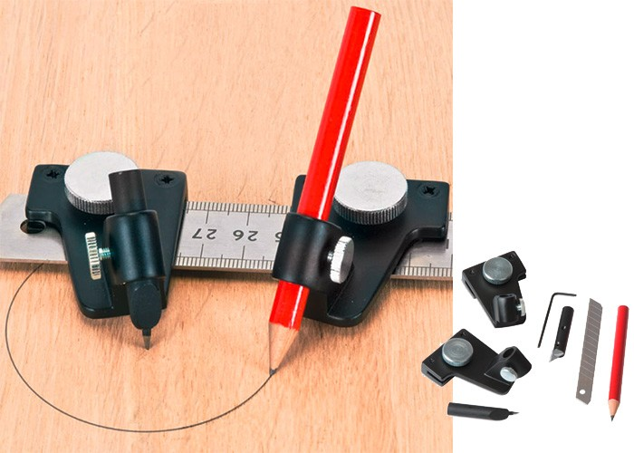 Universal Anreiß-Set CFT für Lineale