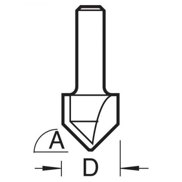 Fase- & V-Nutfräser