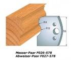 Profilmesser-Paar 572
