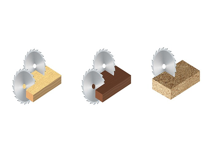 Kreissägeblatt HM 250 x 2,5/1,6 x 30 mm, Z=60