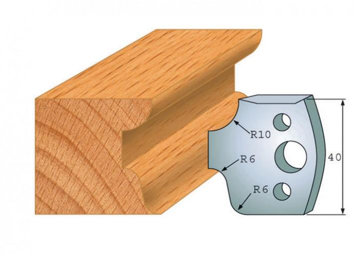 Profilmesser-Paar 045