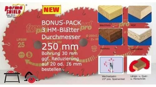 Kreissägeblätter 3x250-30