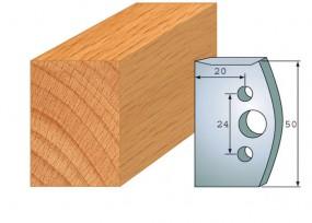 Profilmesser-Paar 500