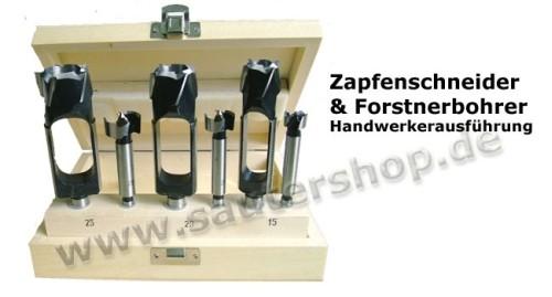 Zapfenschneider Set D 15, 20, 25