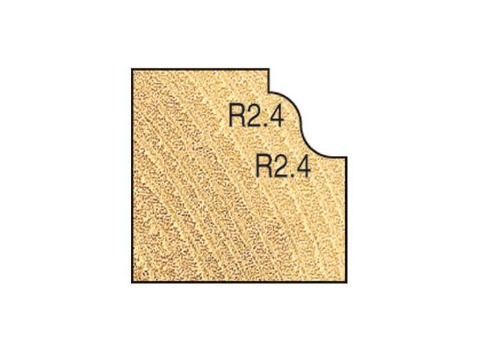 Römischer Miniatur Profilfräser mit Kugellager