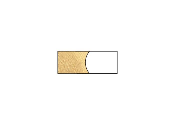 Dekorativer Profilfräser HW (HM) zum Verleimen