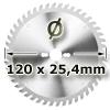 Kreissägeblatt <br/>Ø 120 x 25,4mm
