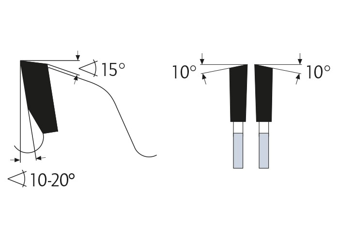 Kreissägeblatt HM 255 x 3,0/2,0 x 30 mm, Z=48