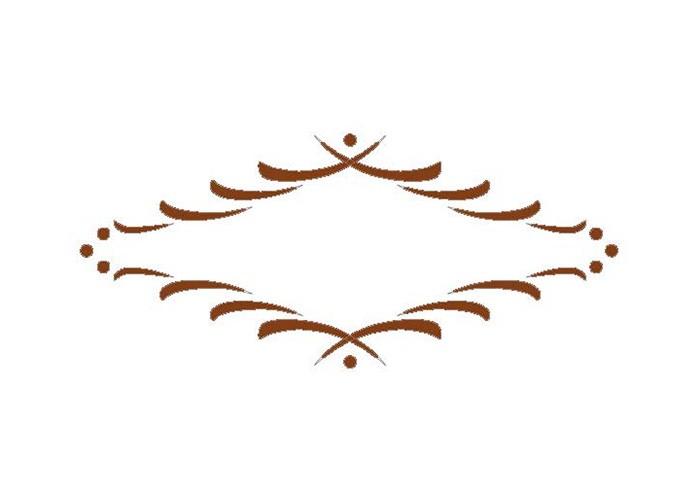 Schubladenfrässchablone Florentina