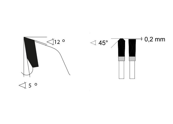 Kreissägeblatt HM 350 x 2,4/2,0 x 30 mm, Z=72