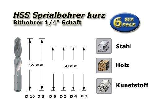 Bit-Bohrer-Set
