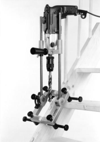 Treppenbau-Bohrständer schwenkbar