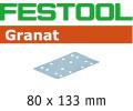 80 x 133 mm - Granat