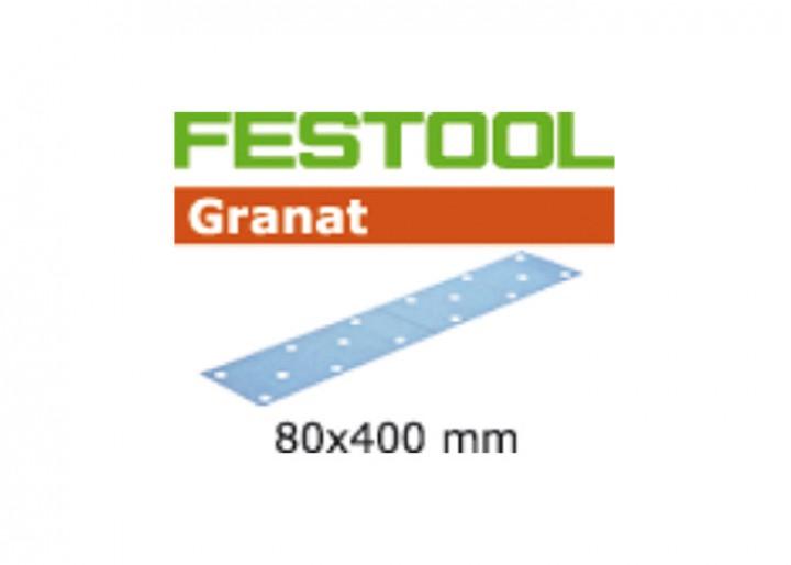 Schleifstreifen STF 80X400 P100 GR/50