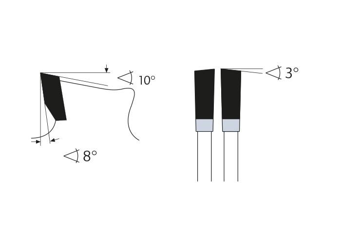 Kreissägeblatt HM 210 x 2,2/1,6 x 30 mm, Z=40