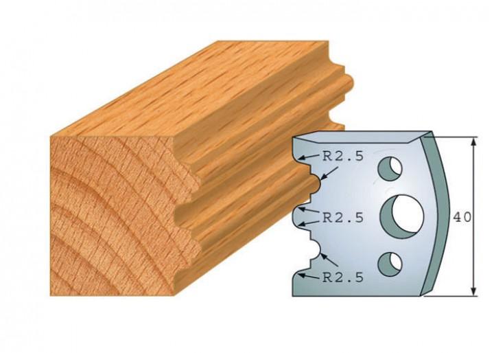 Profilmesser-Paar 108